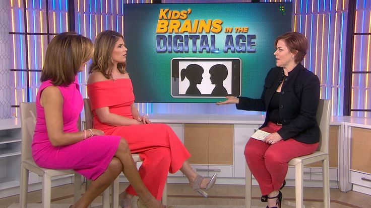 Today's kids are the first generation to grow up in the age of digital media: What effect is it having on them? Psychologist Jennifer Hartstein tells TODAY's Hoda Kotb and Jenna Bush Hager that the news isn't all bad: Using apps on smartphones and tablets is more active than just watching television.