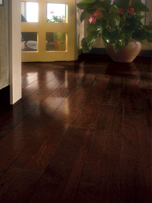Cherry Hardwood Flooring - Copper : E5614 by Bruce Flooring