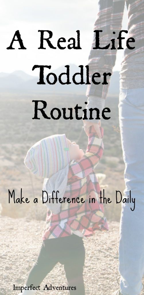 A Real Life Toddler Routine