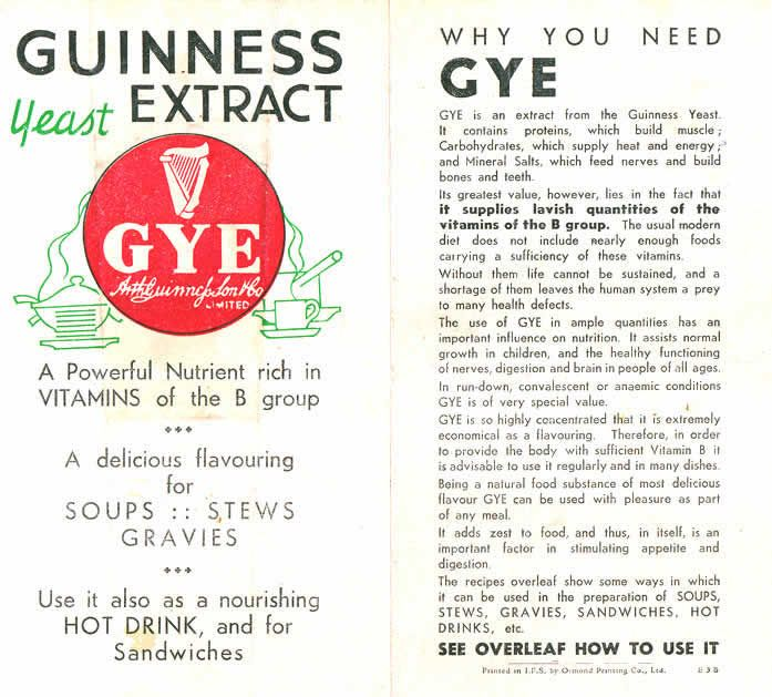 Guinness Yeast Extract - Google Search