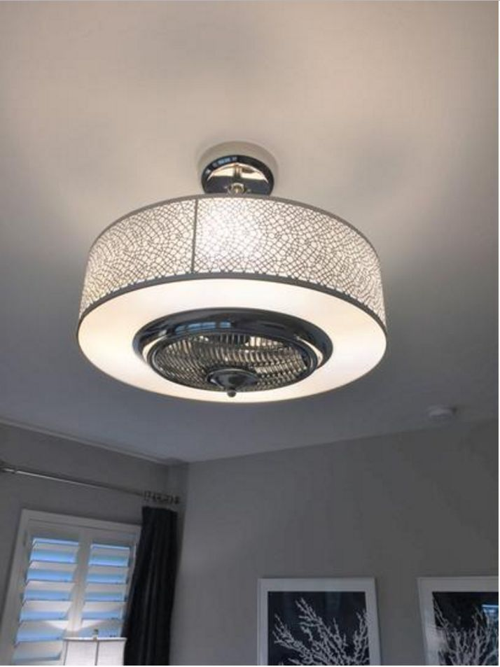 Elegant Ceiling Fan Fancy Satin Nickel Drum Light Unique Chandelier Remote Ebay Master Bedroom Lighting Ceiling Fan Bedroom Copper Ceiling Fan