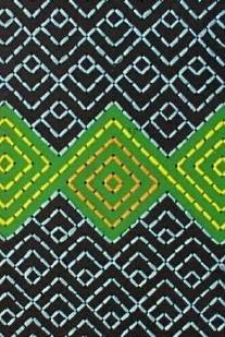 Te Reo Maori  Tukutuku panels made by students