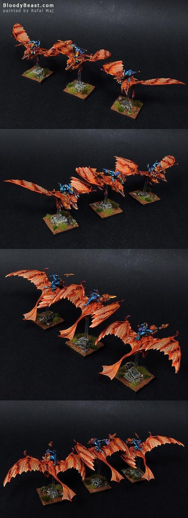 Lizardmen Ripperdactyl Riders