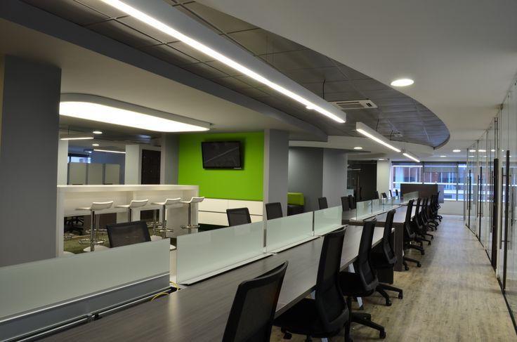 Oficinas Deloitte, Bogota.  Experiencia personal en ejecución para Grupo DossArq.  2013.