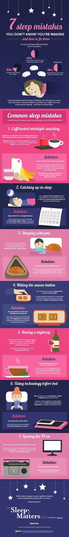 #sleep #healthy #infographic #mistakes #positions #couple #nap #shower #tips #funny #humor #deprivation