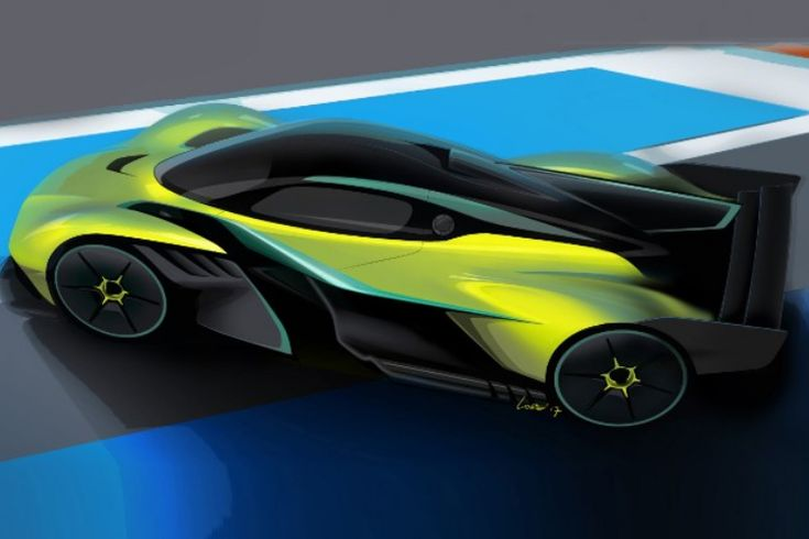 Aston Martin's Valkyrie AMR Pro Doesn't Even Exist, Yet It's Already Sold Out