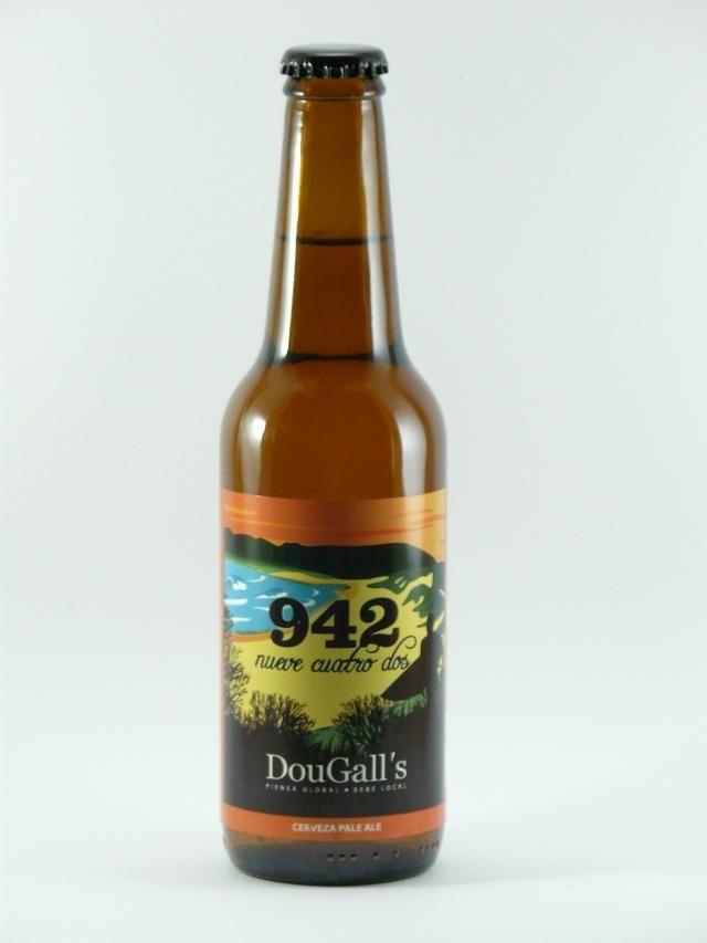 La cerveza Dougall´s 942 es una cerveza artesanal de estilo pale ale. Esta cerveza de Cantabria se encuentra entre las mejores cervezas españolas