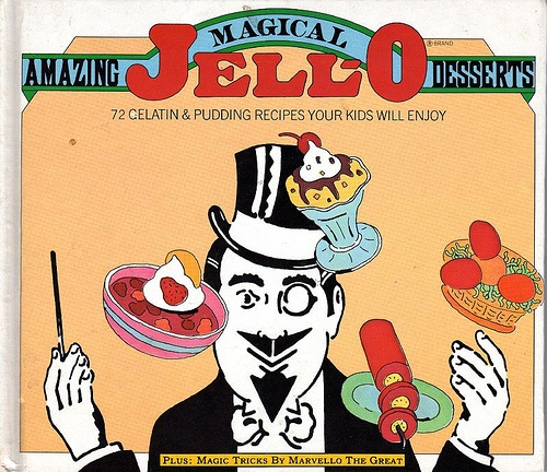 Image result for jello magic cookbook