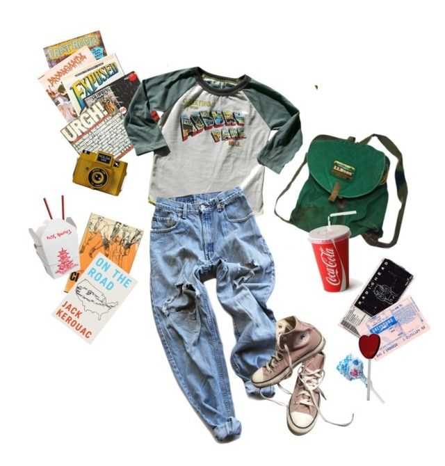"""""""Wish you were here"""" by black-and-white-hipster ❤ liked on Polyvore featuring Free People, Holga, Rowdy Sprout, Levi's and Converse"""