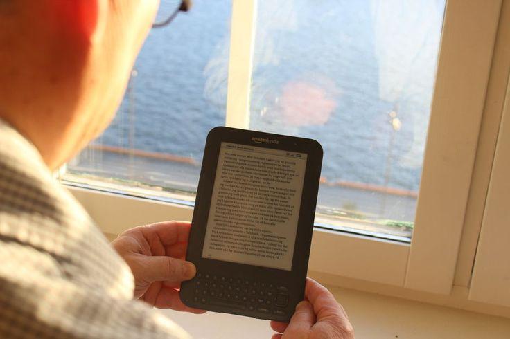 FEIL BOKHANDEL? Det er håp for deg som vil lese norske bøker på Amazons Kindle-lesebrett. (Foto: KAROLINE BRUBÆK)