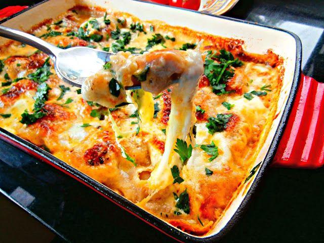 Dzoli volinet.kuvar: Bela Lasanja * White Lasagna