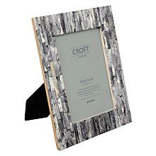 "Buy John Lewis Croft Collection Marble Photo Frame, Grey, 5 x 7"" (13 x 18cm) Online at johnlewis.com"
