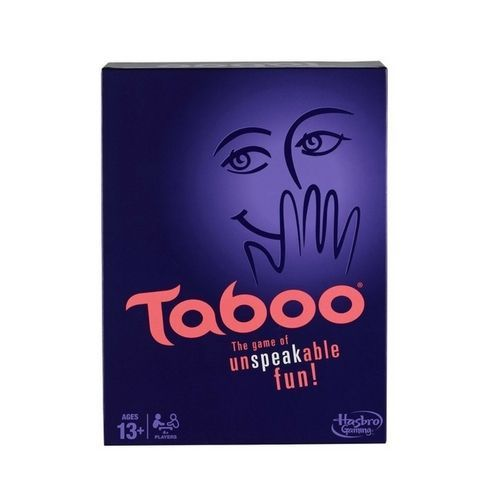 Taboo Board Game Kids Fun Family Adults Toys Cards Teamwork Words Phrases #TabooBoardGame