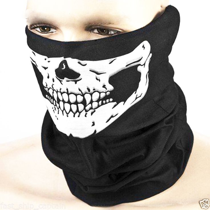 Black Mask  Pirate respirator magic scarf  Halloween mask cool skull mask change magic tricks Cosplay prop funny gadgets