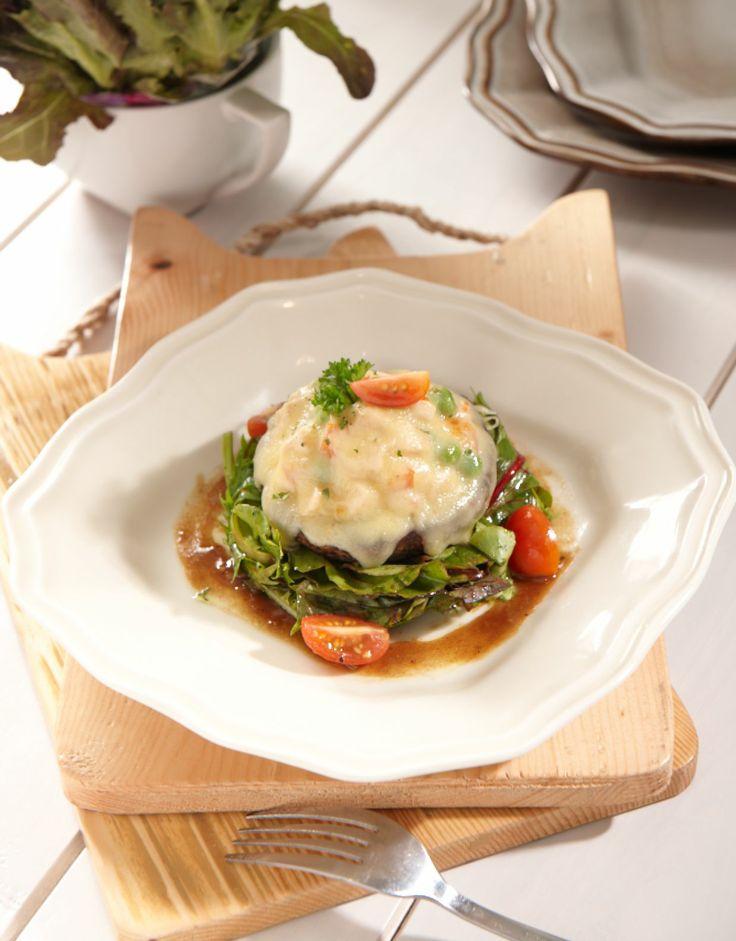 Sam's Portobello Salad #nannyspavillon #food #salad
