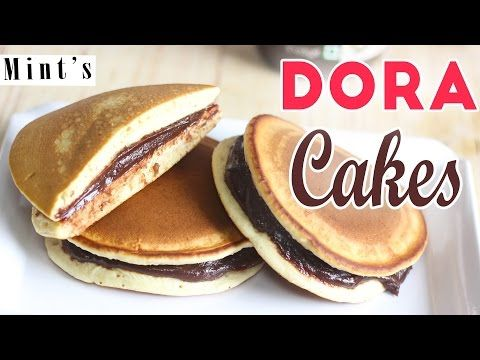 Dora Cakes / Dorayaki / Dora Pancakes | Kid's Favourite Food Recipe | Children's Day Special - YouTube