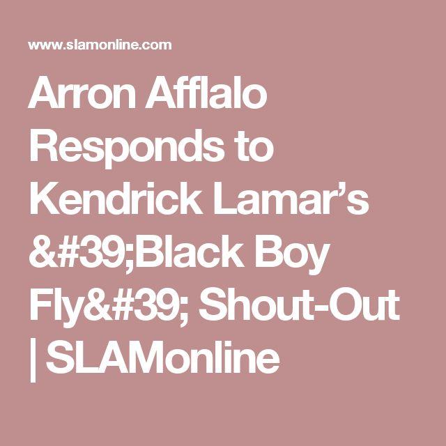 Arron Afflalo Responds to Kendrick Lamar's 'Black Boy Fly' Shout-Out | SLAMonline