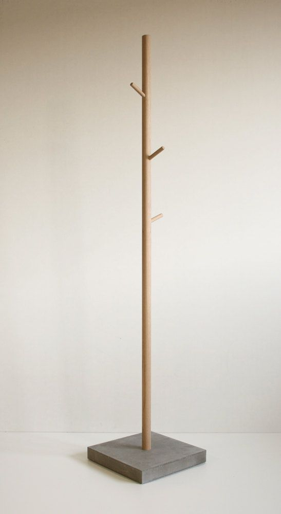 coat stand clothes tree stammhalter oak by bpistorius on etsy