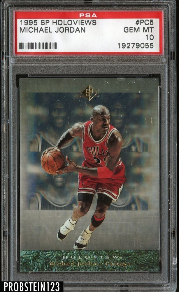 d1a11703c42 1995-96 Special Edition Holoviews Michael Jordan Chicago Bulls PSA 10 GEM  MINT #MichaelJordan #sportscards