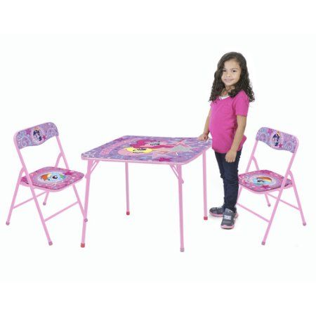My Little Pony 3-Piece Table and Chair Set, Purple