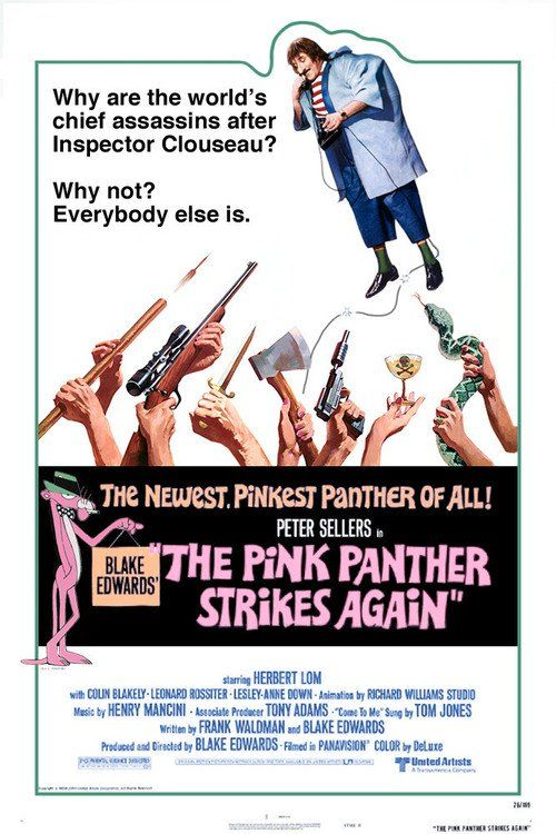 The Pink Panther Strikes Again (1976) - Watch The Pink Panther Strikes Again Full Movie HD Free Download - Watch Full The Pink Panther Strikes Again Movie Online  