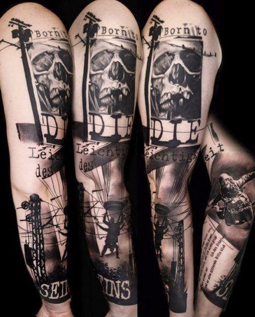 Tattoo Artist - Buena Vista Tattoo Club - www.worldtattoogallery.com/sleeve_tattoos