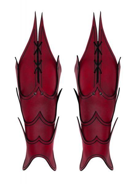 Jambières Démon rouges