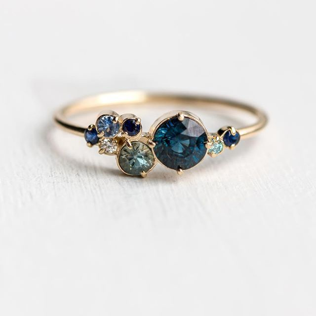 Neuer blauer Saphir-Indie-Ring wurde veröffentlicht! Limitierte Auflage und ab … – Julia
