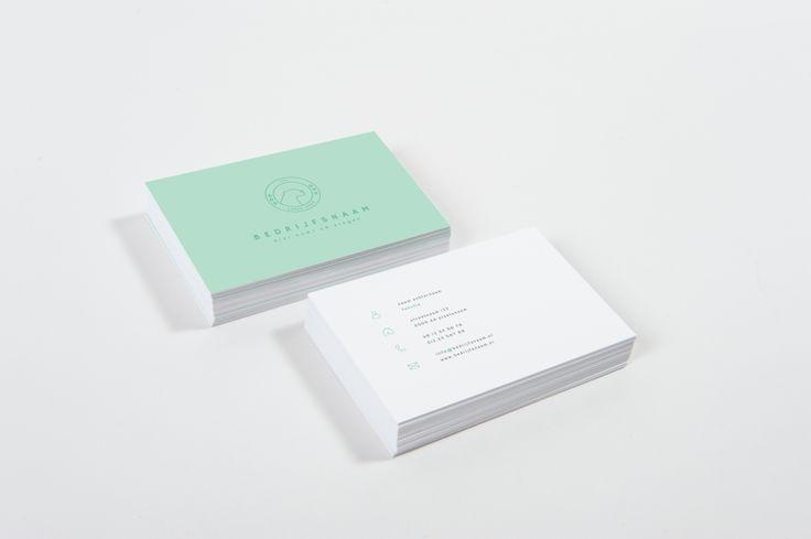 Sportschool vistekaartjes huisstijlenfabriek ontwerp vormgeving drukwerk