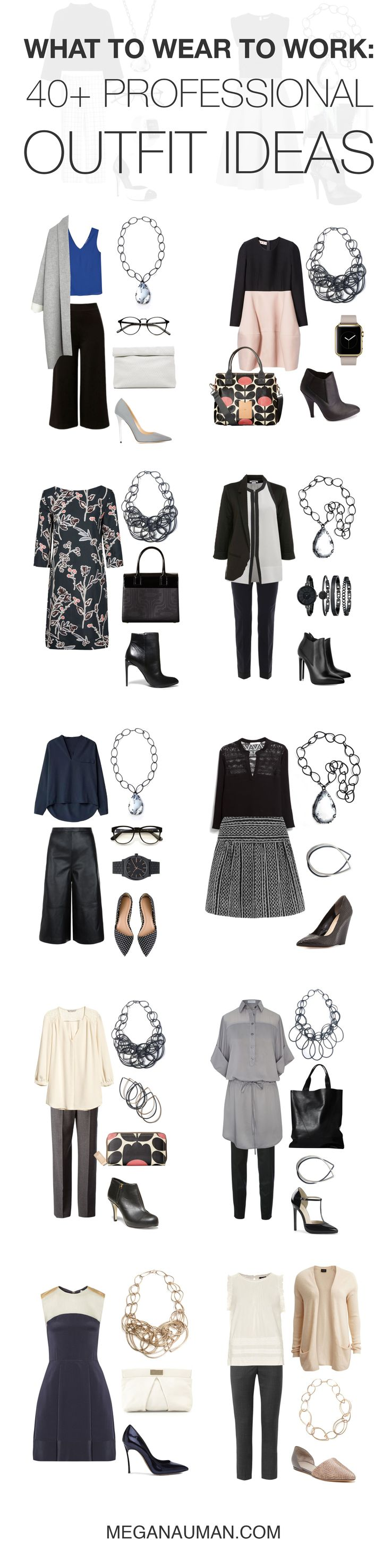 what to wear to work: 40+ professional outfit ideas // click through to see all the looks