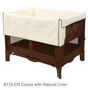 Co-sleeper. Bassinet up to 30lbs. Playpen up to 50. Detachable, portable changing table