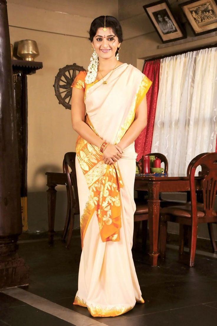 Traditional Kerala Saree