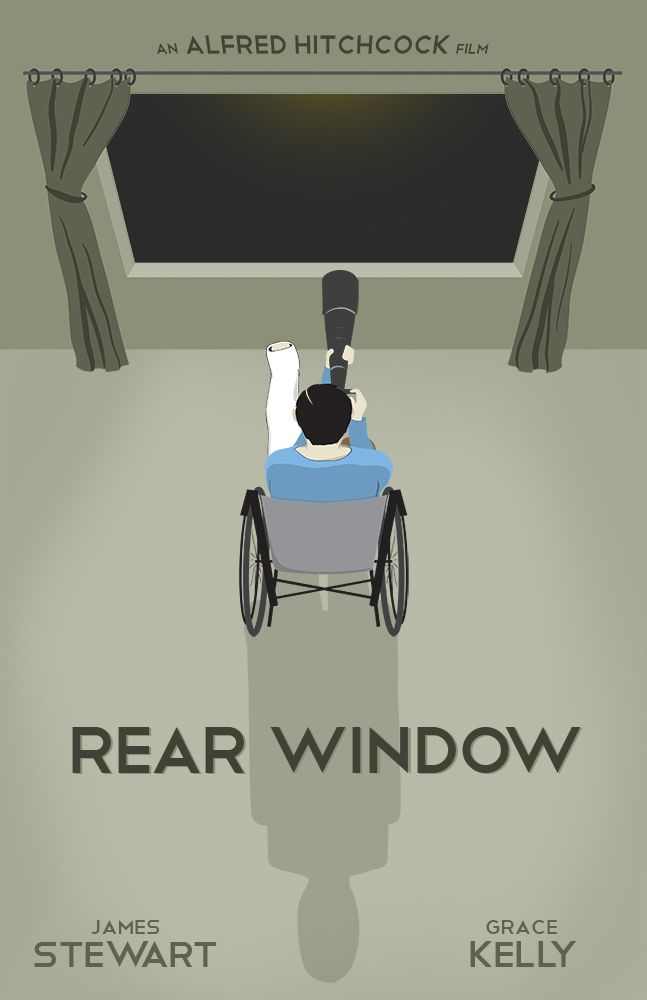 Rear Window <3 LOVE this movie!!!!!!!  One of the all time best movies ever!