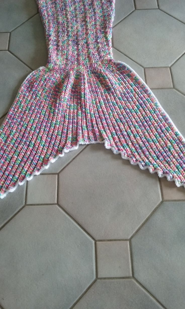 Elaine's Mermaid Blanket