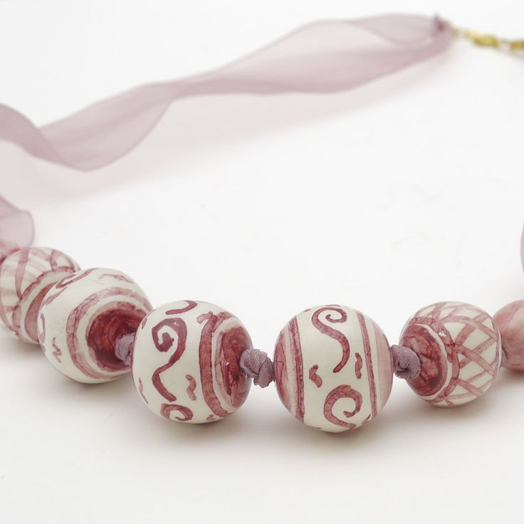 Collana in ceramica
