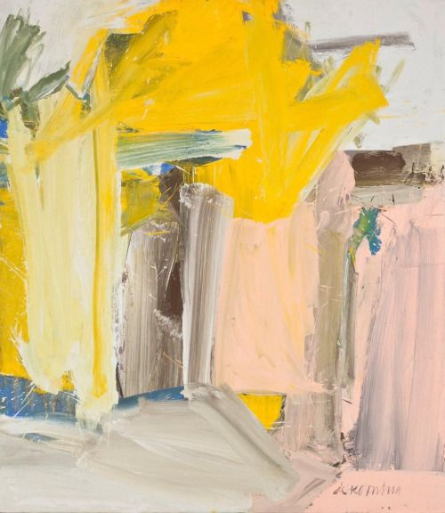 """ Willem de Kooning 
