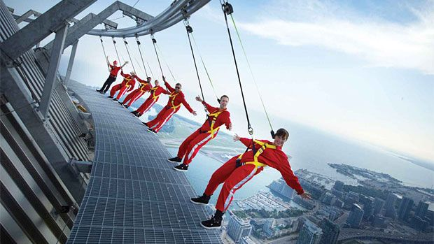 EdgeWalk...So happy I had the Opportunity to do this!!!
