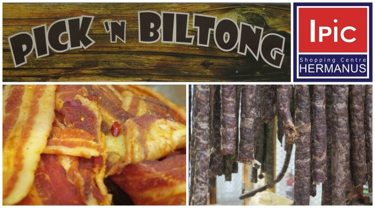 Pick n Biltong at the IPIC shopping Centre in Long Street Hermanus  Hours: Mon - Fri: 9:00 am - 5:30 pm / Sat 9:00 am - 14:00 pm  For a full list of all the IPIC tenants visit http://ilovehermanus.co.za/listing/the-ipic-shopping-center/