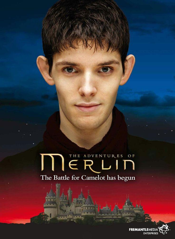 Merlin looks handsome
