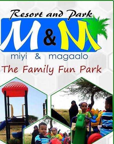 Miyi & Magaalo Family Park in Hargeisa Somalia/Somaliland