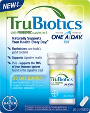 Tru Biotics Daily Probiotic Supplement- may help with constipation and irregularity