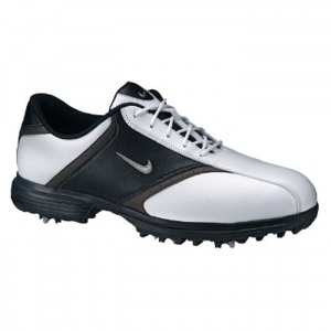 SALE - Mens Nike Heritage Golf Cleats White Synthetic - Was $74.99 - SAVE $25.00. BUY Now - ONLY $49.97