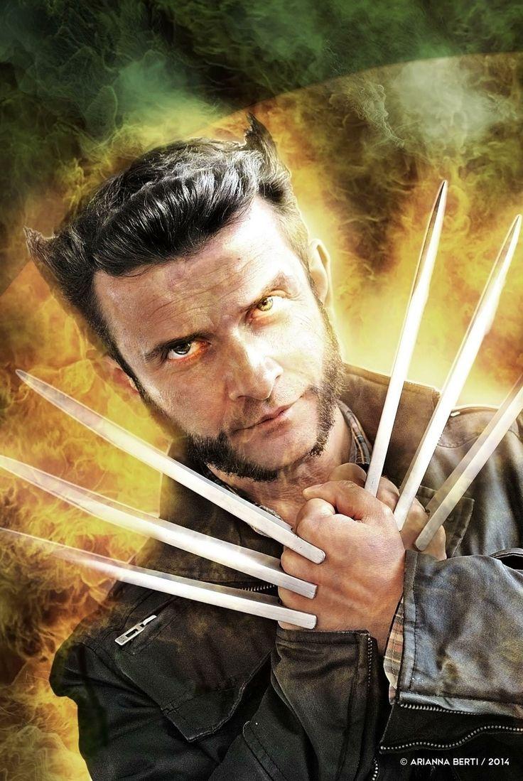 Wolverine Cosplay (Enrico Milardi) _ Romics 2014. Photo / Editing: © Arianna Berti