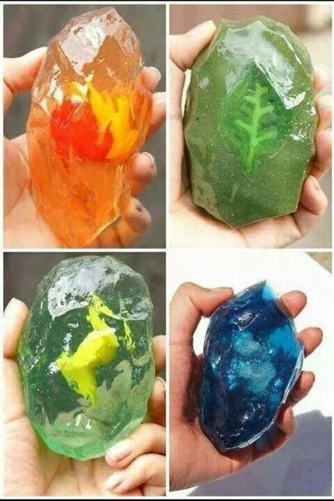 Pokemon evolutionary stones. Gotta find a fire stone for the boy.