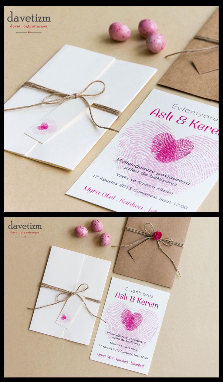 Kalpleri birlikte atan çiftler için... #davetizm #davetiye #wedding #invitation