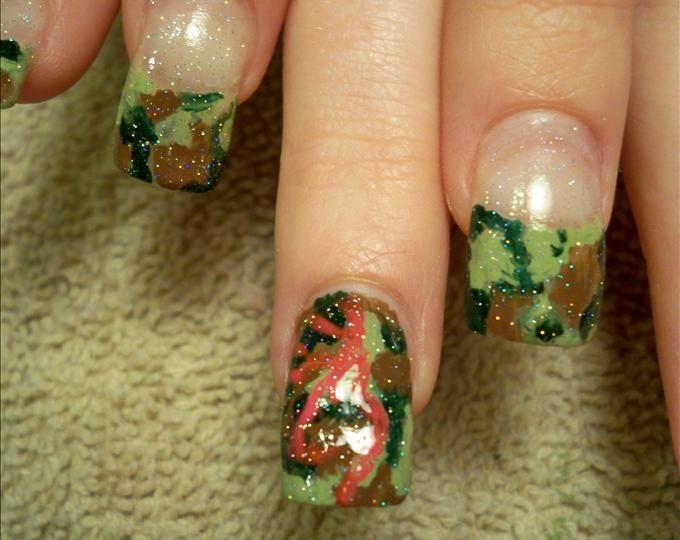 Browning Camo nails (so Cool!)