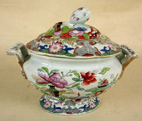 17 Best images about Mason's Ironstone on Pinterest Tea caddy, Fruits basket and England
