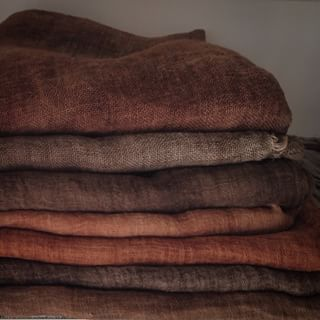 Pure Linen Kitchen Towels / European Linen / Baltic Linen / Lithuanian Linen