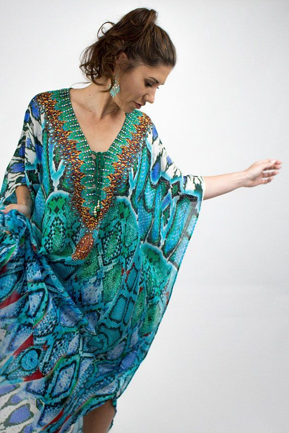 38e4a603ec Kaftan dress womens dress beach kaftan maxi dress | I Dream of ...