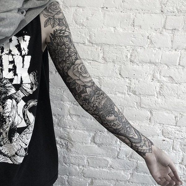 Full Sleeve Tattoo - 80+ Awesome Examples of Full Sleeve Tattoo Ideas
